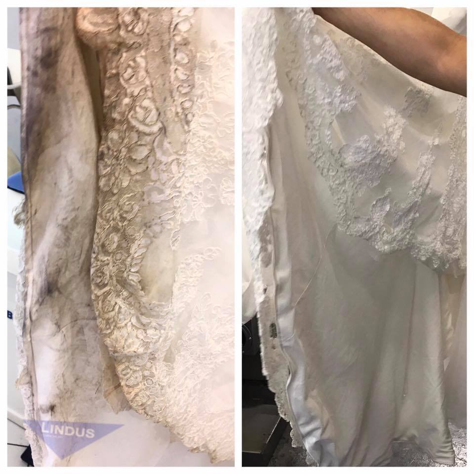 Wedding Gown Preservation Process Machines: Before And After